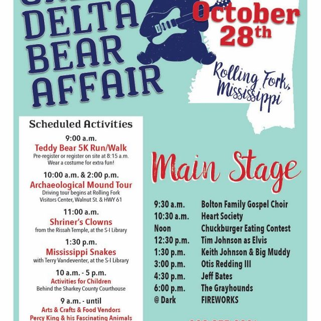 Join us today in Rolling Fork!bearcentennial