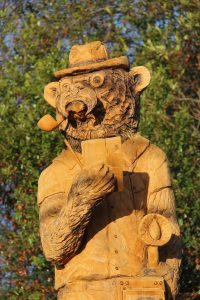 Chainsaw Carved Bear in Rolling Fork