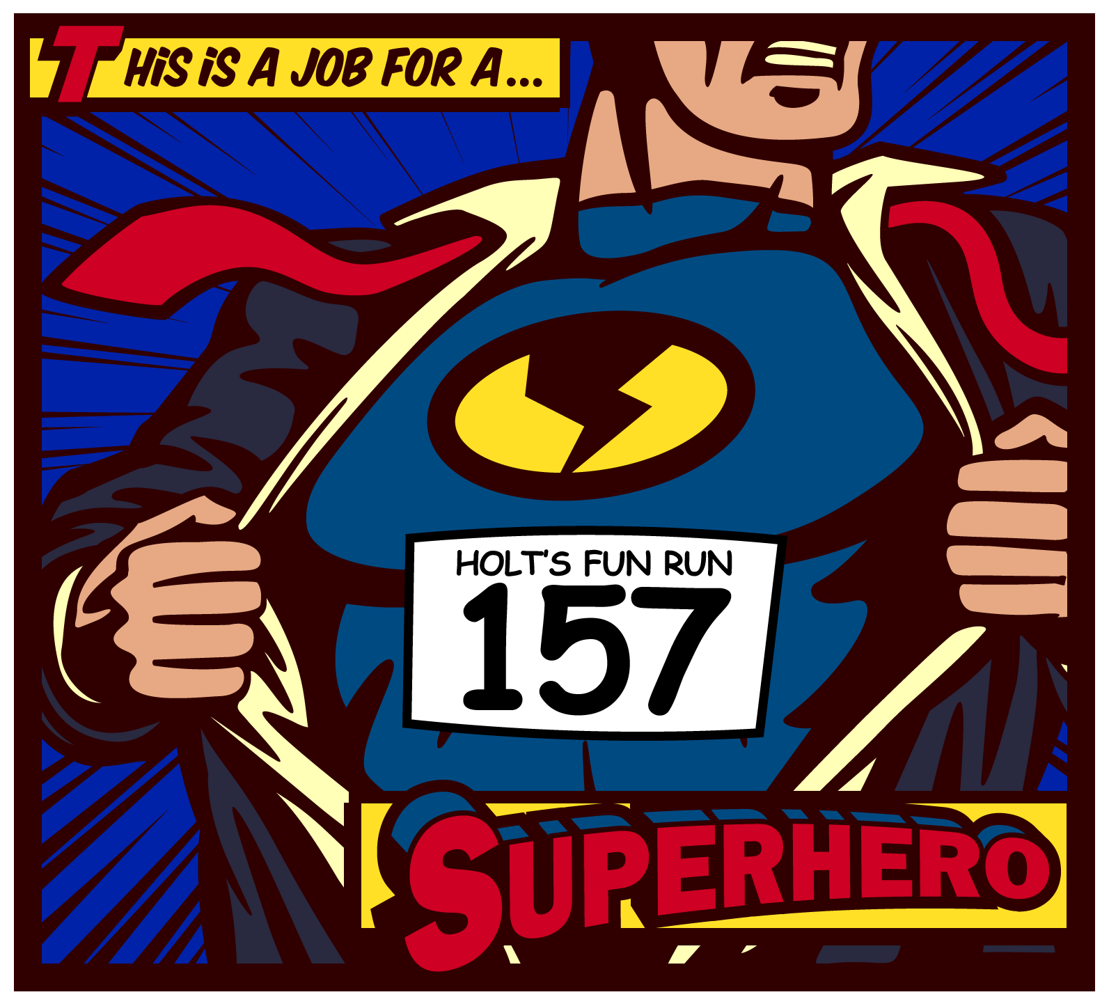 Holt's Super Hero Fun Run