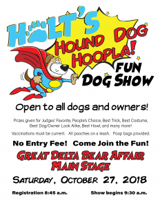 Holt's Hound Dog Hoopla!
