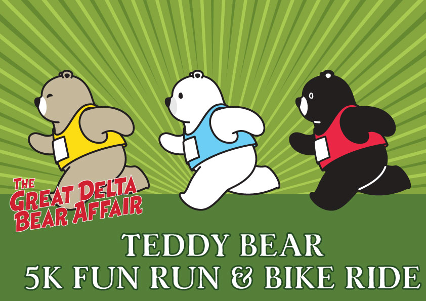 Teddy Bear 5K Fun Run & Bike Ride