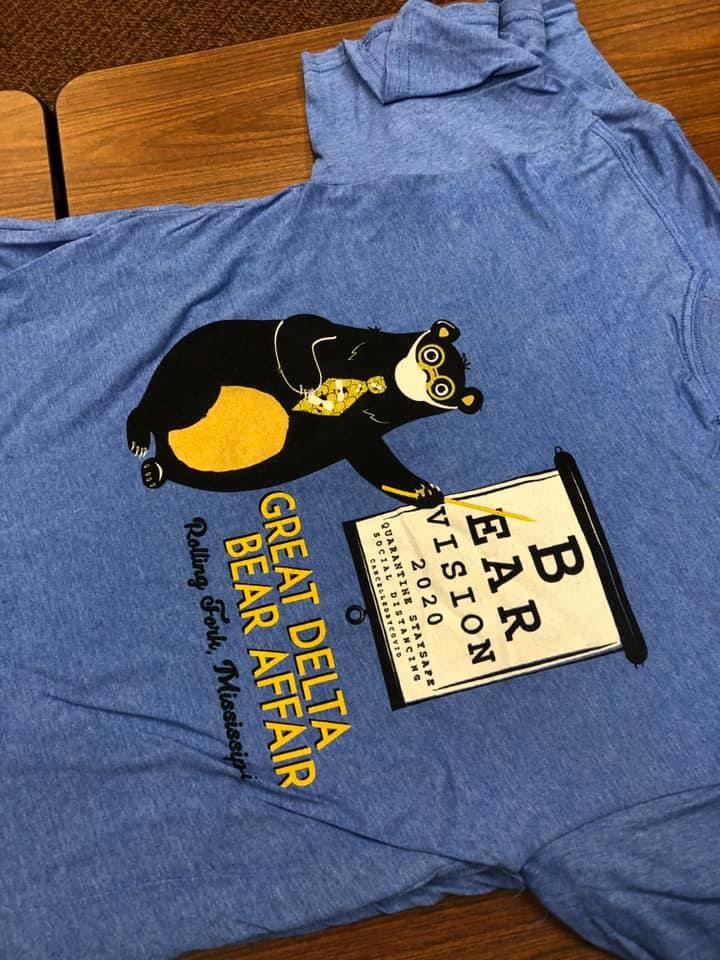 Great Delta Bear Afffair T-shirt design